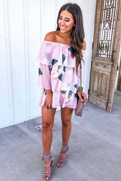 Wrap Dress + Jeffrey Campbell Sandal | 51+ Popular Summer Outfits You Should Already Own