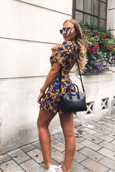 Floral Dress | 21+ Elegant Short Dresses You will Love to Try