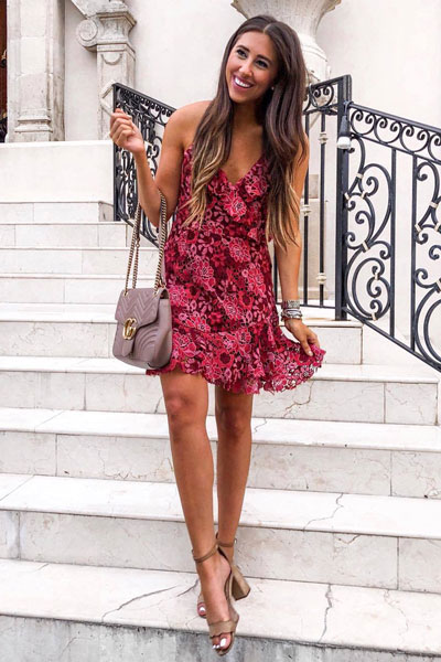 Floral Dress | 21+ Lovely Summer Dresses Inspired by Fashion Influencers