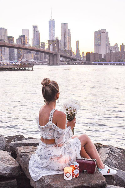 Floral Midi Dress | 51+ Popular Summer Outfits You Should Already Own