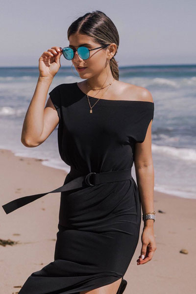 Drop Shoulder Gown | 51+ Popular Summer Outfits You Should Already Own