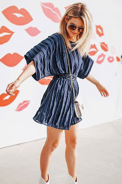 Sienna Dress + Booties | Stunning Summer Outfit Ideas to Inspire You