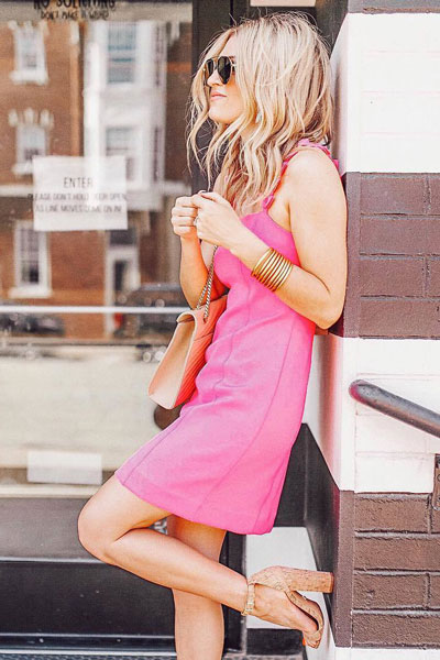 Shellbee Dress + Enida Sandals | 15+ Cute Summer Outfit Ideas to Look Like A Chic