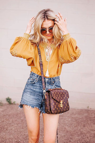 Notting Hill Top+ High Rise Shorts | 51+ Popular Summer Outfits You Should Already Own