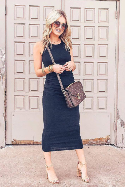 Michael Stars Racerback Dress | Stunning Summer Outfit Ideas to Inspire You