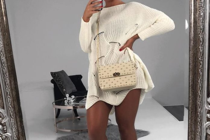 cute knit outfits ideas