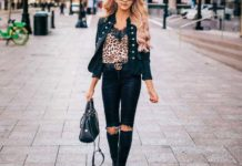 20 Incredible Black Jeans Outfits to Copy This Fall Season